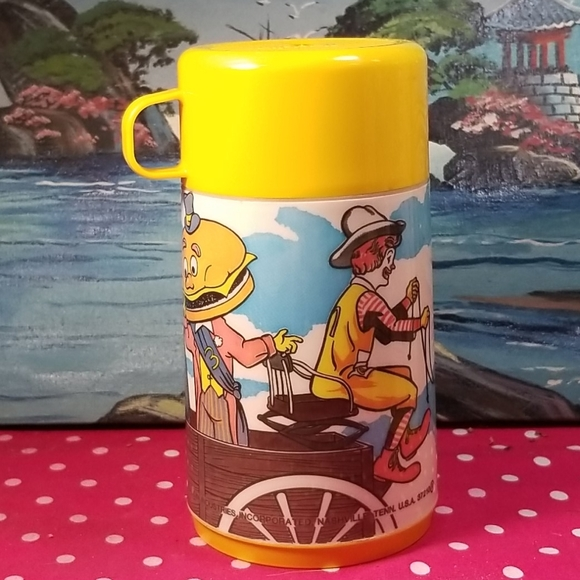 Vintage1982 McDonald's thermo hot and cold thermo